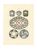 Fonds Partiels (Partial Background) Porcelain Giclee Print by Edouard Garnier