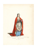 Noblewoman of Milan, 15th Century Giclee Print by Paul Mercuri