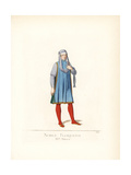 Nobleman of Florence, 15th Century Giclee Print by Paul Mercuri