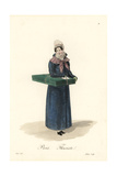 Florist, Paris, Early 19th Century Giclee Print by Louis-Marie Lante
