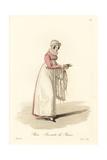 Servant at the Baths, Paris, Early 19th Century Giclee Print by Louis-Marie Lante