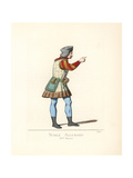 Costume of a German Nobleman, 15th Century Giclee Print by Paul Mercuri