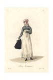 Dressmaker, Paris, Early 19th Century Giclee Print by Louis-Marie Lante