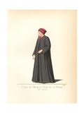 Costume of Cosimo De Medici, 15th Century Giclee Print by Paul Mercuri