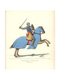 Aimery De Guillaume Berard, French Knight, 13th Century Giclee Print by Paul Mercuri