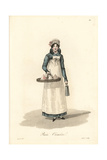 Dairywoman, Paris, Early 19th Century Giclee Print by Louis-Marie Lante