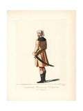 Costume of a Soldier of Verona, 15th Century Giclee Print by Paul Mercuri