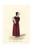Shop Girl of Paris, Early 19th Century Giclee Print by Louis-Marie Lante