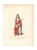 Noblewoman of Venice, 13th Century Giclee Print by Paul Mercuri