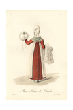 Chambermaid, Paris, Early 19th Century Giclee Print by Louis-Marie Lante