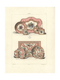 Solitaire Tea Service and Coffee Service Giclee Print by Edouard Garnier