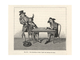 Cardsharps Fleecing a Mark in a Game of Cards, Circa 1800 Giclee Print