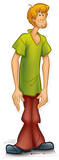 Shaggy - Scooby Do Cardboard Cutouts