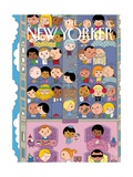 The New Yorker Cover - April 21, 2014 Regular Giclee Print by Ivan Brunetti