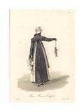 Child's Maid, Paris, Early 19th Century Giclee Print by Louis-Marie Lante