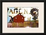 Americana 9 Framed Giclee Print by JB Hall
