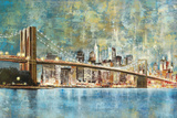 Twilight Crossing Giclee Print by Georges Generali