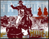 Americana 2 Mounted Print by JB Hall
