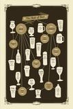 Vintage Beers Giclee Print by Clara Wells