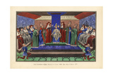 The Coronation of Pope Boniface Ix at Rome Giclee Print