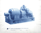 Mechanical Cyanotype V Giclee Print by Chris Dunker