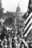 Anti-War Demonstration Washington DC 1969 Archival Poster Photo