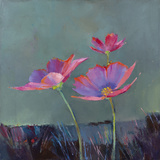 Poppies in Bloom II Giclee Print by Sarah Simpson