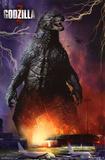Godzilla - Airport Lámina