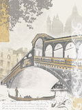 Rialto Bridge Poster by Ben James
