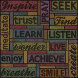 Words of Inspiration I Giclee Print by Janie Secker