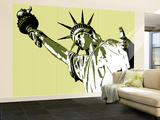 Lady Liberty Wall Mural – Large by  Steez