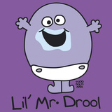 Lil Mr Drool Giclee Print by Todd Goldman