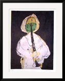 Shepherd with Green Beard Limited Edition Framed Print by Slavko Kopac