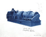 Mechanical Cyanotype VI Giclee Print by Chris Dunker