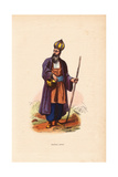Dervish Man from Persia (Iran) Wearing Onion-Shaped Hat Giclee Print by H. Hendrickx