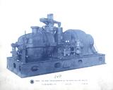 Mechanical Cyanotype VIII Giclee Print by Chris Dunker