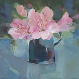 Pink Azalea Giclee Print by Sarah Simpson