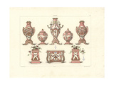 Vases and Jardinieres Giclee Print by Edouard Garnier