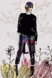 Fashion Jungle I Print by Emilie Ramon