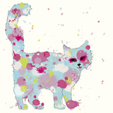 Candy Cat I Giclee Print by Clara Wells