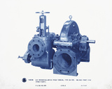 Mechanical Cyanotype I Giclee Print by Chris Dunker