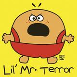 Lil Mr Terror Giclee-trykk av Todd Goldman