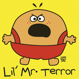 Lil Mr Terror Giclee Print by Todd Goldman