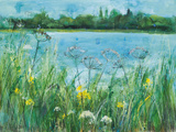 Across The Lake Giclee Print by Ann Oram
