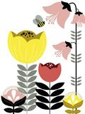 Nordic Flowers II Giclee Print by Laure Girardin-Vissian