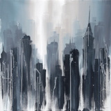 Towering Metro I Giclee Print by Kris Hardy