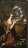 Lamia Stretched Canvas Print by J.W. Waterhouse