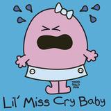 Lil Miss Cry Baby Giclée-Druck von Todd Goldman
