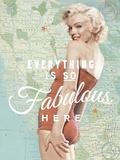 Fabulous Marilyn Reproduction procédé giclée par  The Chelsea Collection
