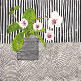 Orchid Mosaic I Impression giclée par Susan Brown